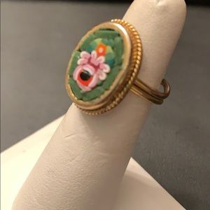 Vintage Jewelry - 🔥New Inventory🔥Vintage Micro Mosaic Ring